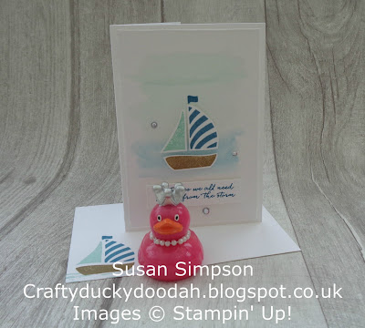 Stampin' Up! UK Independent  Demonstrator Susan Simpson, Craftyduckydoodah!, Swirly Bird, July2017 Coffee & Cards Project, Supplies available 24/7. from my online store,