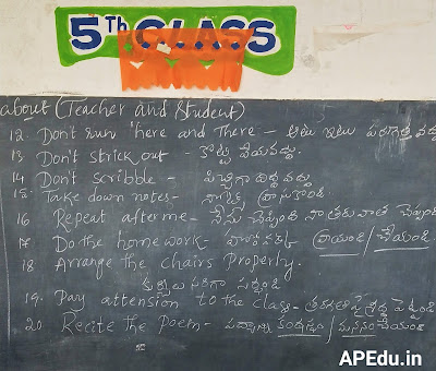 Spoken English Class Room Sentences