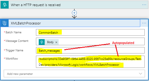 configure call xml processor