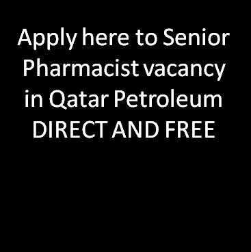 pharmjobs org: Apply here to Senior Pharmacist vacancy in
