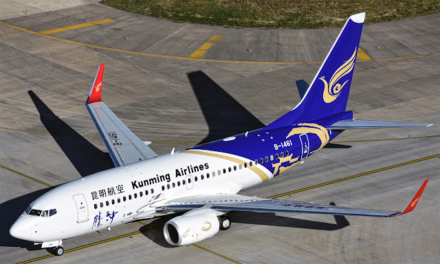 Boeing 737-700 of Kunming Airlines