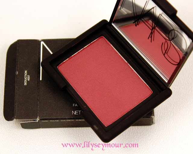 Nars Seduction Blush and Comparisons