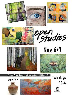 OPEN STUDIOS NOV 6+7: our fifth anniversary!