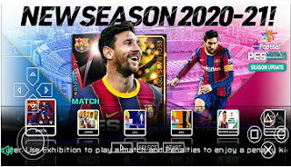 Download PES 2021 PPSSPP Grapics HD Update Winter Last Transfer & English Version Peter Drury Commentary