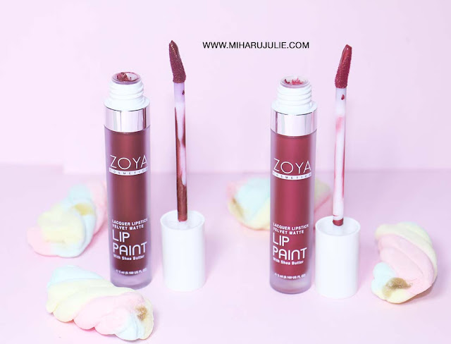 REVIEW ZOYA LIP PAINT METALLIC
