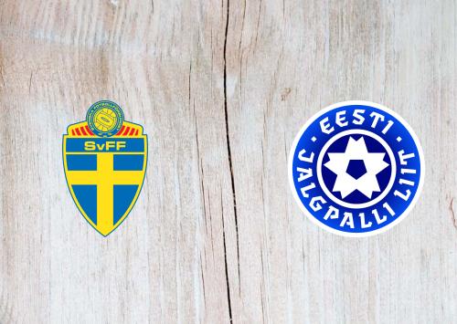 Sweden vs Estonia -Highlights 31 March 2021