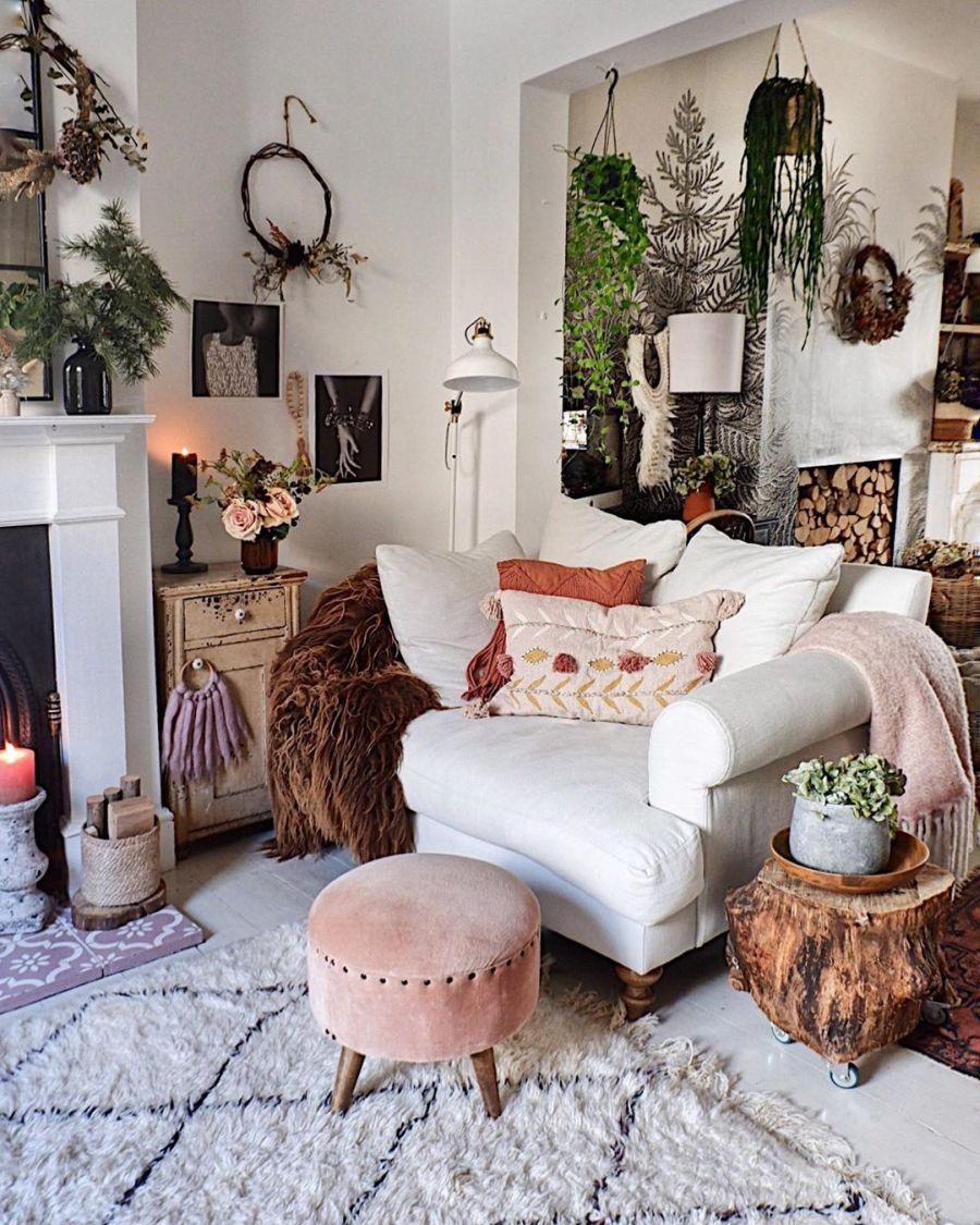 wystrój wnętrz, wnętrza, urządzanie domu, dekoracje wnętrz, aranżacja wnętrz, inspiracje wnętrz,interior design , dom i wnętrze, aranżacja mieszkania, modne wnętrza, boho, boho style, styl skandynawski, scandinavian style, styl eklektyczny, salon, pokój dzienny, fototapeta, living room,