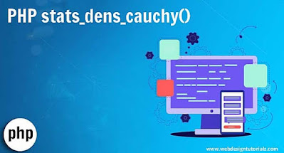PHP stats_dens_cauchy() Function