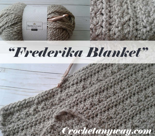 crochet blanket frederika