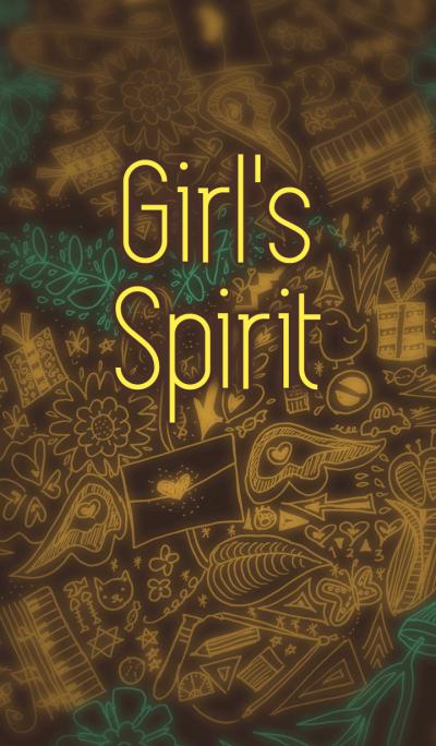 Girl's Spirit Theme (Brown) [w]