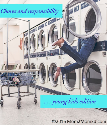 Chores and responsibility: Young kids edition