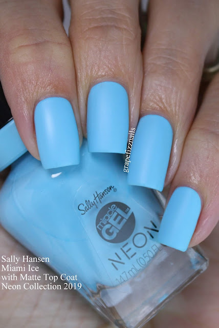 Sally Hansen Miami Ice Neon Collection
