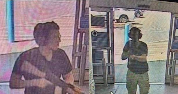 Texas Walmart Shooting - CCTV | 20 Poles Dead
