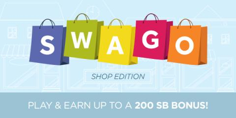 Image: It's time for another round of SWAGO, and this board is all about shopping!
