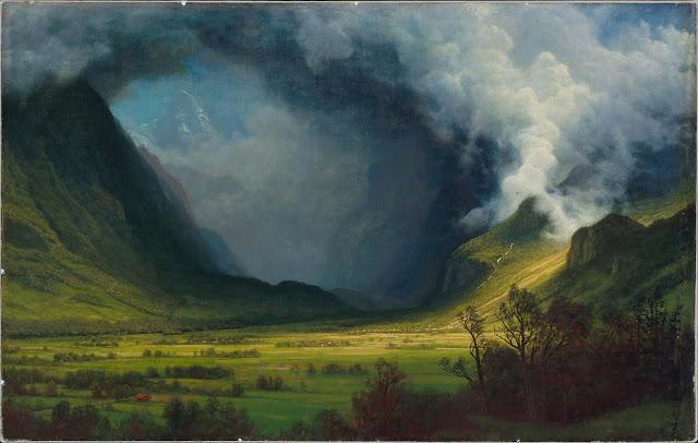 Tormenta de las montañas – Albert Bierstadt