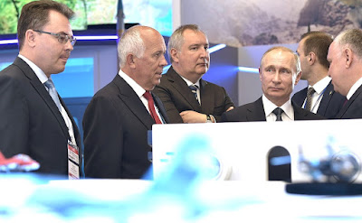 Russian President visited International Aviation and Space Salon MAKS-2017.