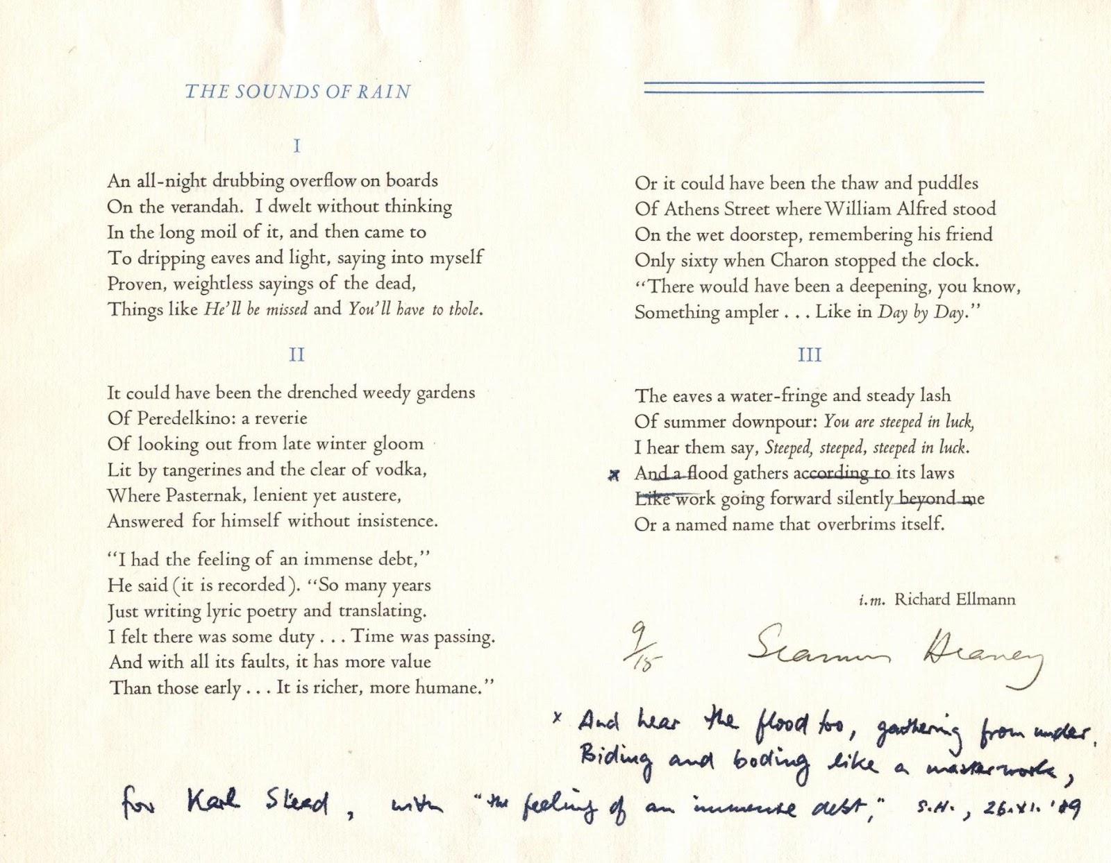 Yeats essay the symbolism of poetry