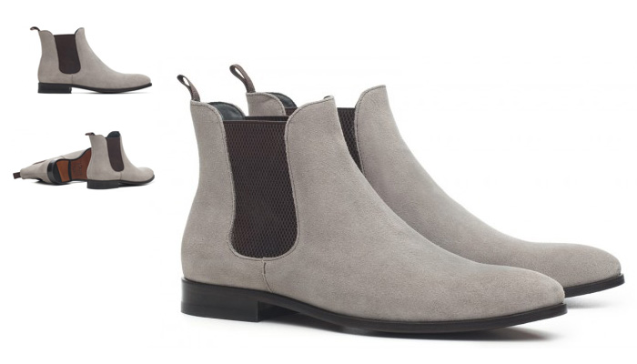 Chelsea Boots cinza