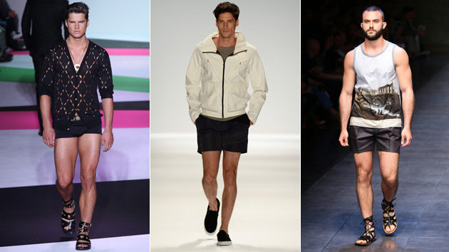 Cebu Fashion Bloggers: Short shorts for Men!