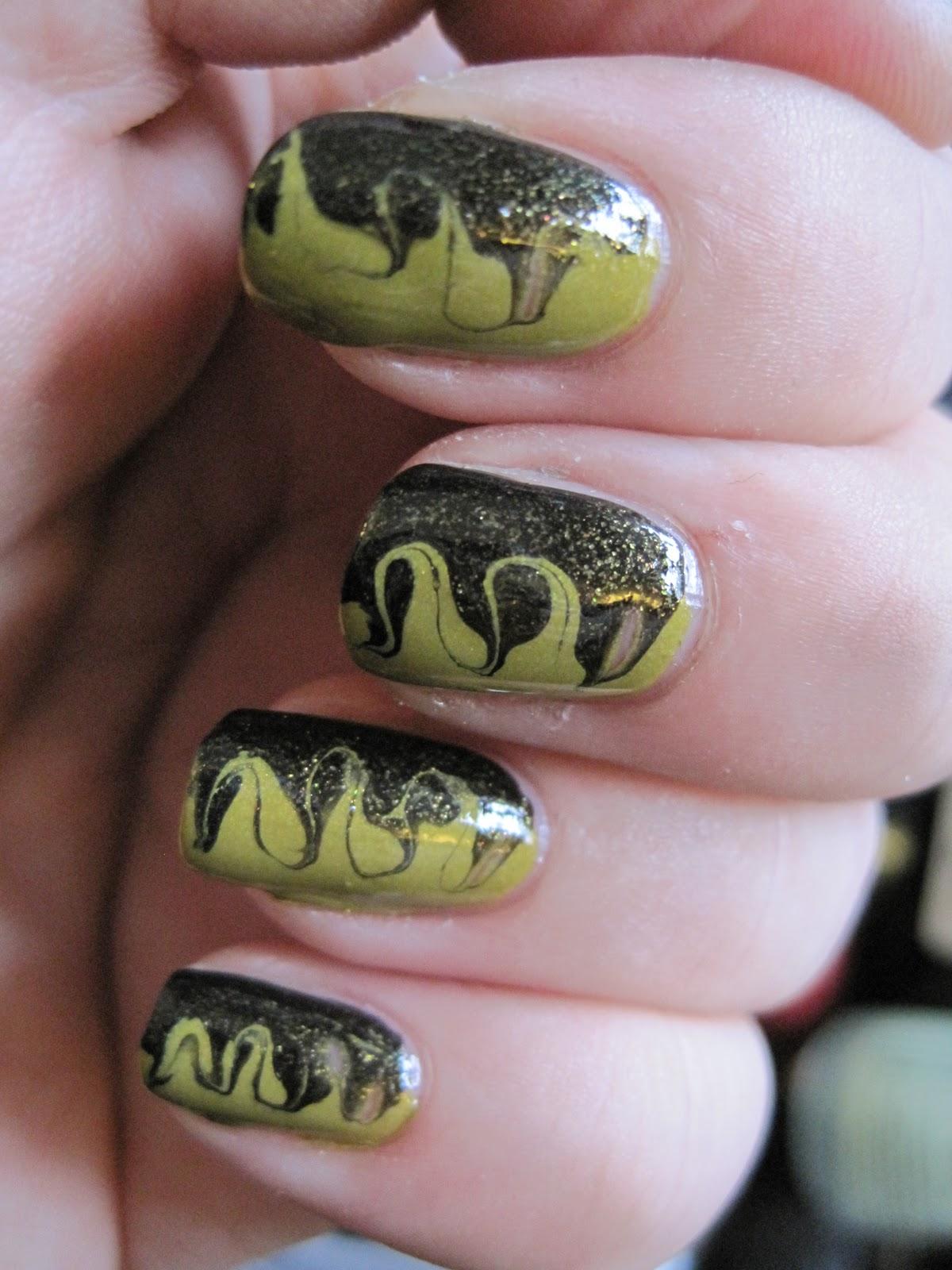 Svartebloggen: Swirly nails