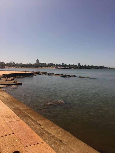 Пляж в Монтевидео