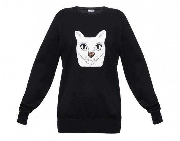 loewe cat sweater