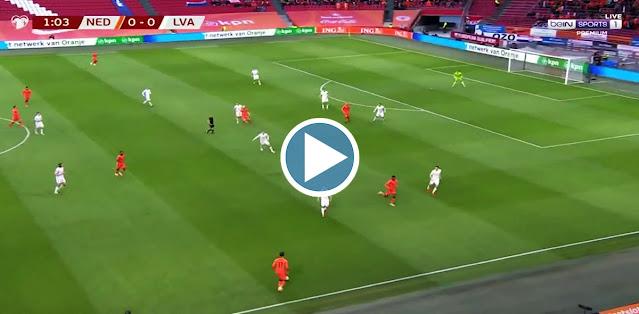 Netherlands vs Latvia Live Score