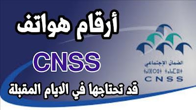رقم هاتف الصندوق الوطني للضمان الاجتماعي CNSS |إتصل بنا