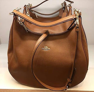 Coach 38259 Harley Hobo Pebble Leather Large Handbag Rm749
