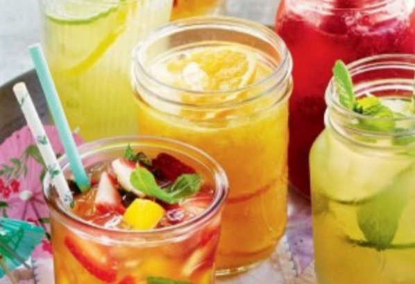 Method of action of mango juice with orange