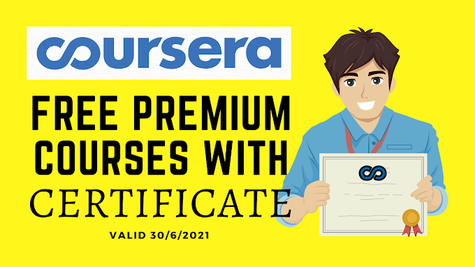 Coursera free courses with certificate   60+ Premium Coursera Courses with Certificate