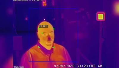 Amazon turns to a Chinese company banned to supply thermal cameras