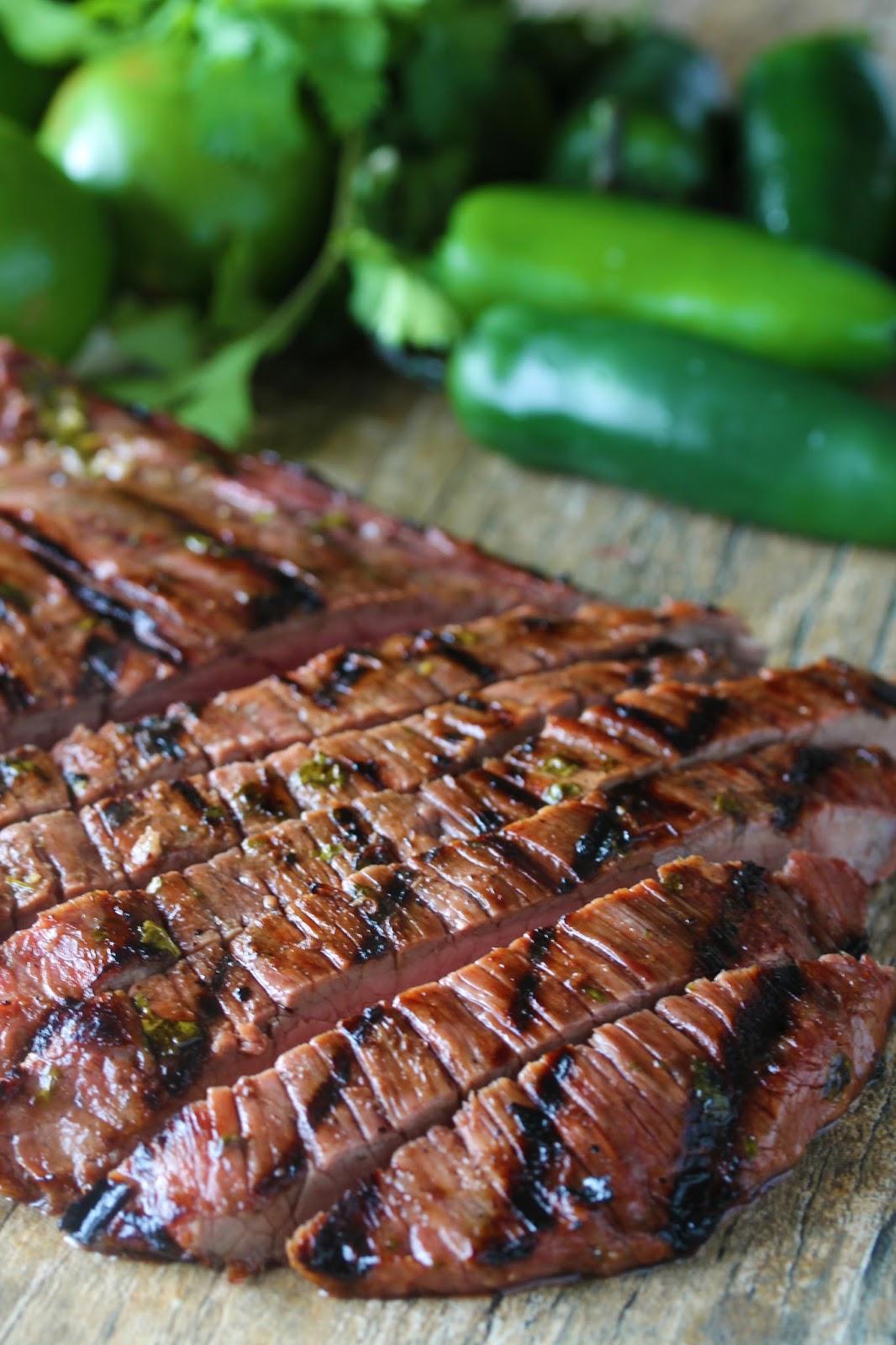 Barbecued Meat (Carne Asada) Recipe — Dishmaps
