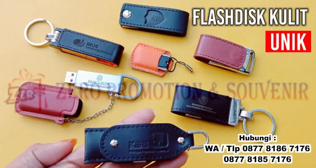 Jual flashdisk kulit unik & menarik harga murah