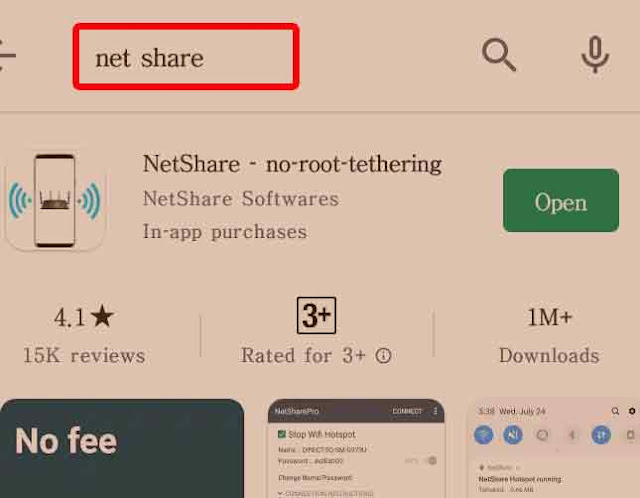 Search Net Share and Download