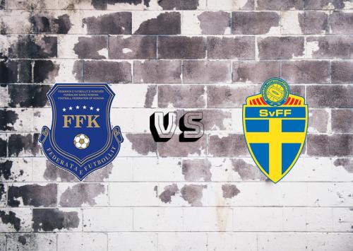 Kosovo vs Suecia  Resumen