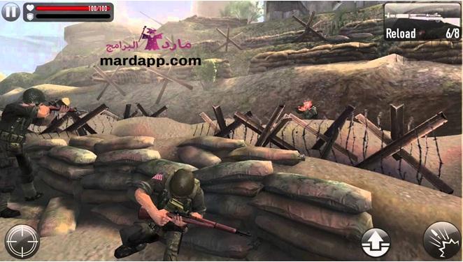 لعبة الحرب العالمية الثانية 1944 للكمبيوتر مجانا