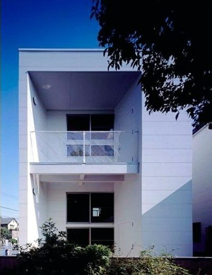 material rumah minimalis sederhana dengan warna cat monokrom putih