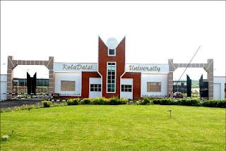KolaDaisi University Undergraduate Admission Form