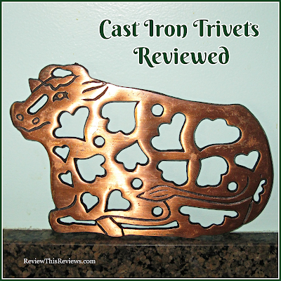 Cast Iron Trivets Reviewed