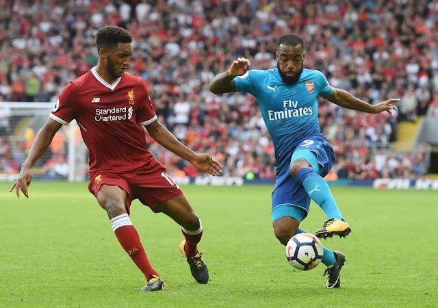 Prediksi Arsenal vs Liverpool, 3 November 2018