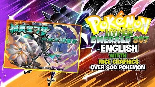 Pokemon Hyper Emerald 807 English Patched Gba Rom