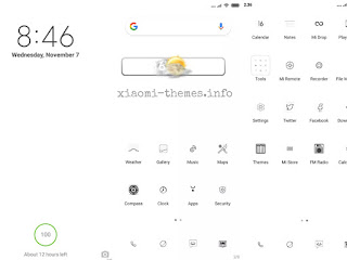 Best MiUi White theme for download