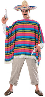 Men's Mexican Serape Adult Costume