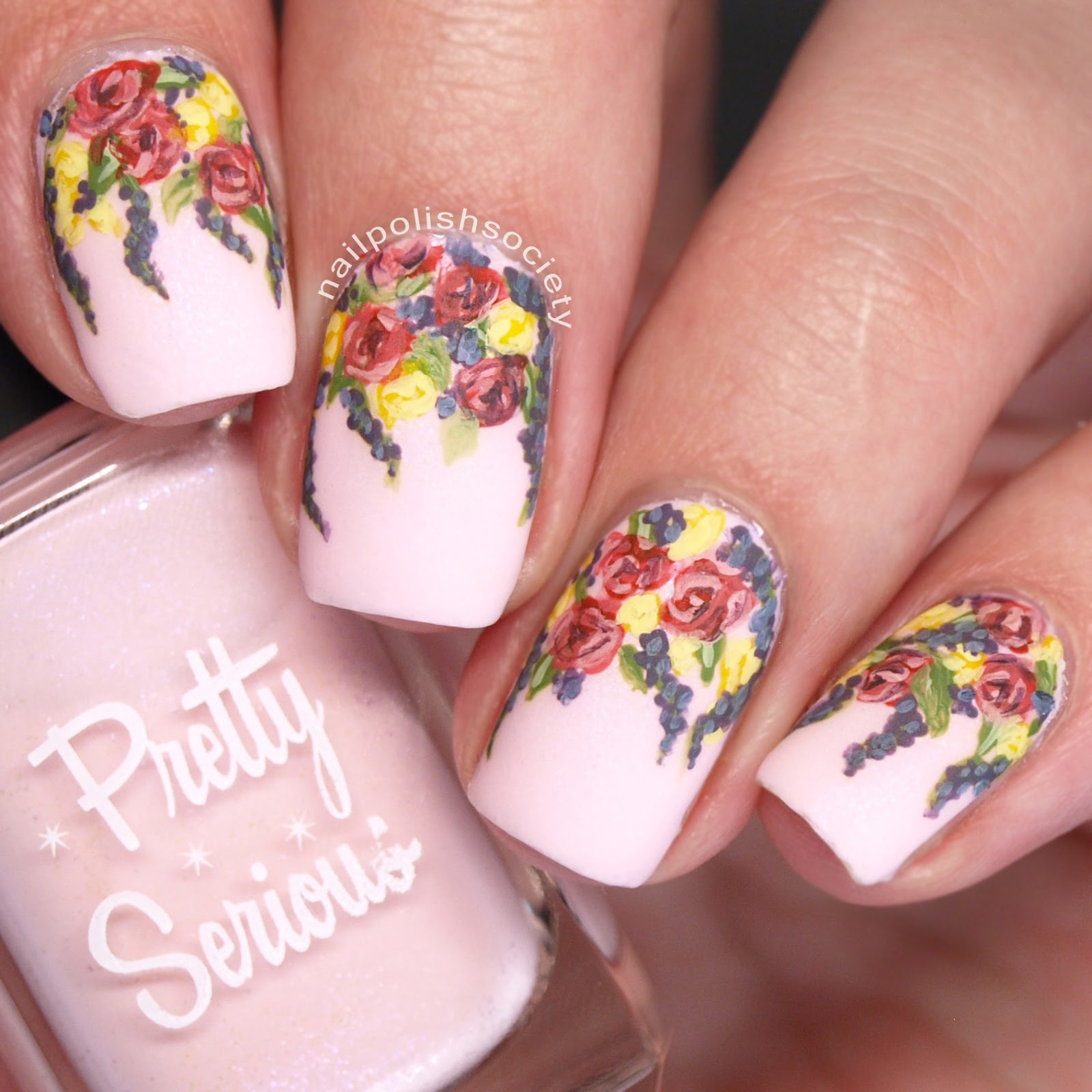 Nail Polish Society: ABC Challenge: P is for Paint