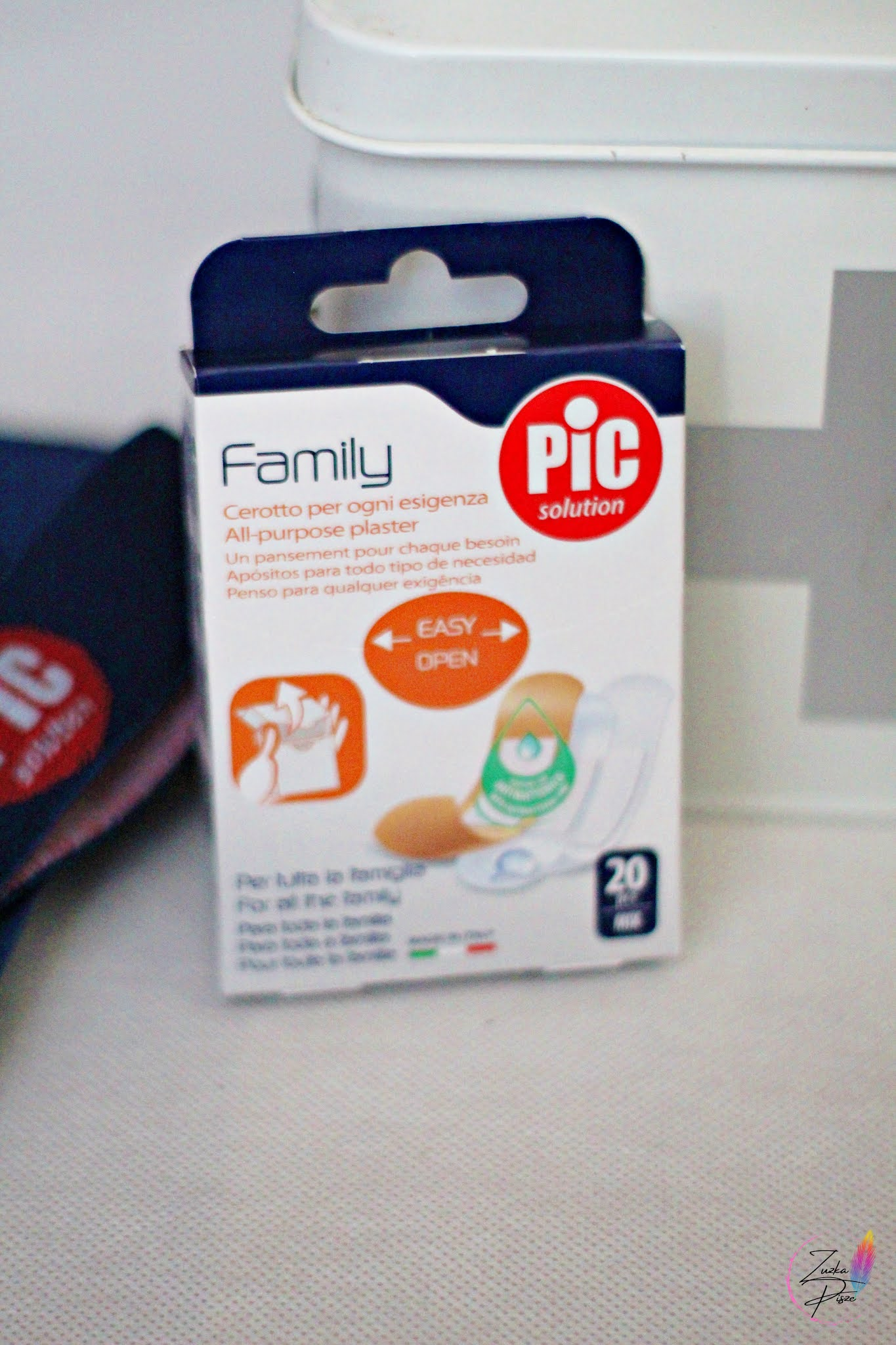 PIC Solution Family - Uniwersalne plastry z antybakteryjnym opatrunkiem