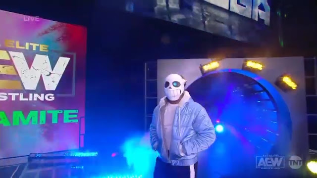 Kenny Omega came out as an Undertale character