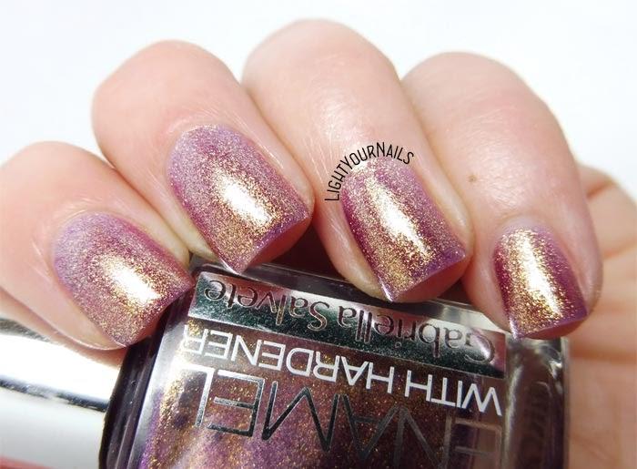 Smalto rosa antico dorato Gabriella Salvete rose gold shimmer nail polish