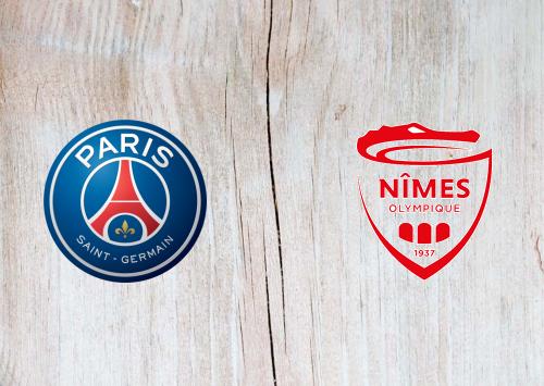 PSG vs Nîmes -Highlights 11 August 2019