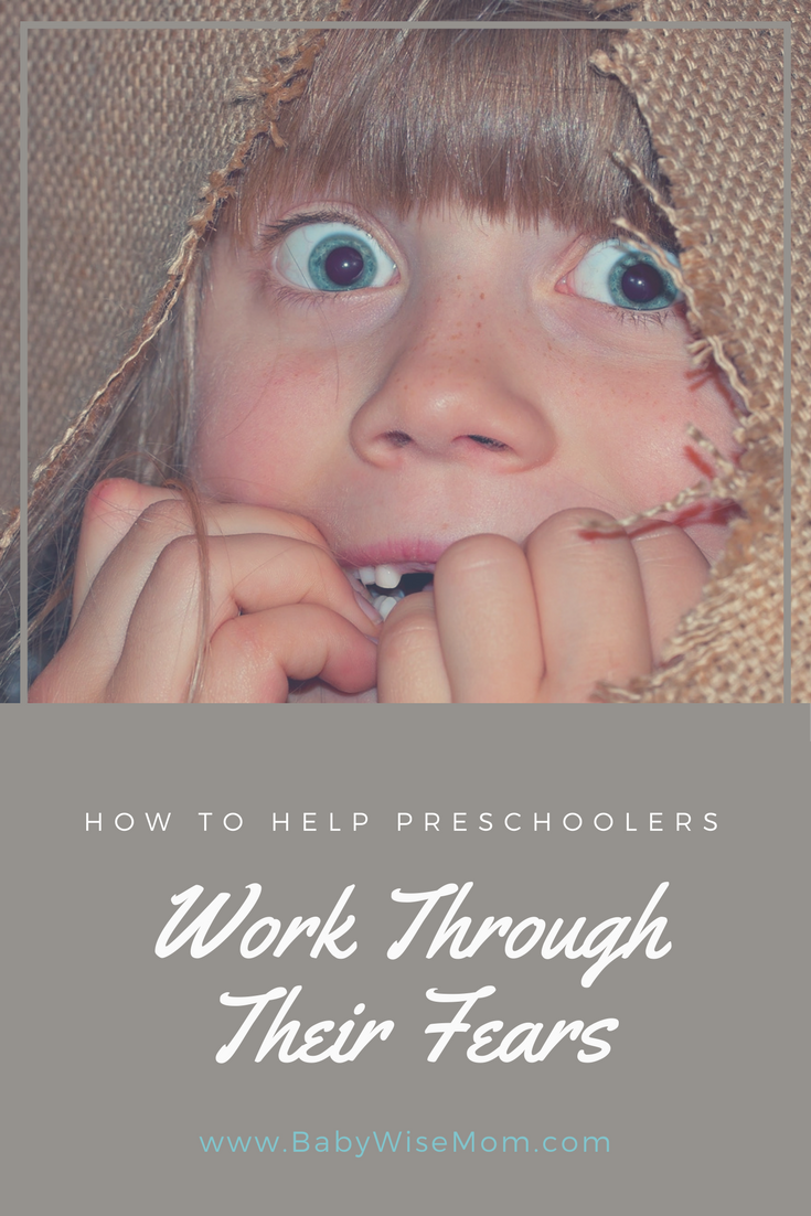 How to help preschoolers work through their fears